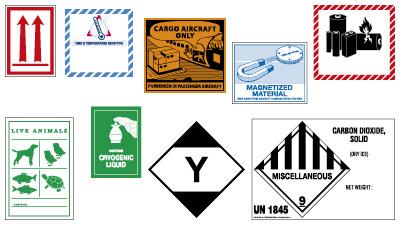 Etiquetage spécifique IATA