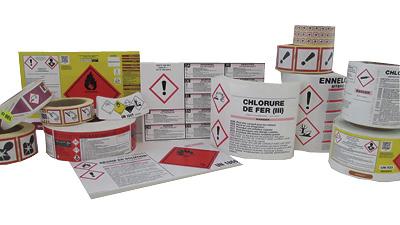 Etiquettes de sécurité CLP